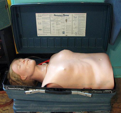 CPR-dummy
